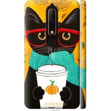 Чехол на Nokia 6 2018 Осенний кот