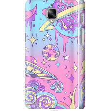 Чехол на OnePlus 3 'Розовый космос