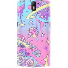 Чехол на OnePlus 1 'Розовый космос