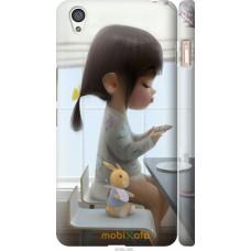 Чехол на OnePlus X Милая девочка с зайчиком