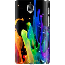 Чехол на OnePlus 3 брызги краски