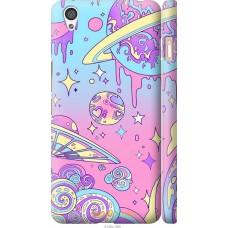 Чехол на OnePlus X 'Розовый космос