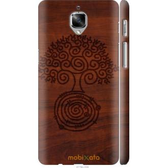 Чехол на OnePlus 3 Узор дерева