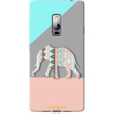 Чехол на OnePlus 2 Узорчатый слон