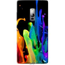 Чехол на OnePlus 2 брызги краски