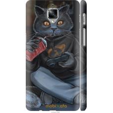 Чехол на OnePlus 3 gamer cat