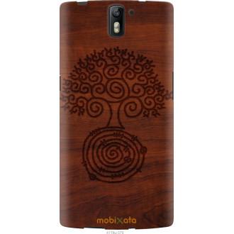 Чехол на OnePlus 1 Узор дерева