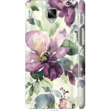 Чехол на OnePlus 3 Акварель цветы