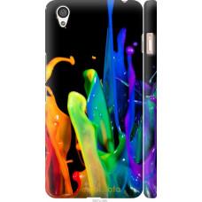 Чехол на OnePlus X брызги краски