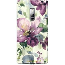 Чехол на OnePlus 2 Акварель цветы