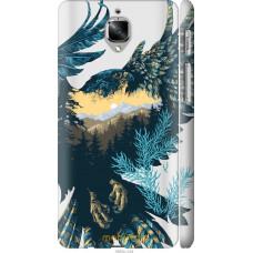 Чехол на OnePlus 3 Арт-орел на фоне природы