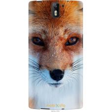 Чехол на OnePlus 1 Рыжая лисица