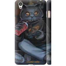 Чехол на OnePlus X gamer cat