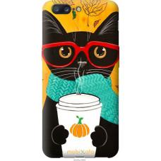 Чехол на OnePlus 5 Осенний кот