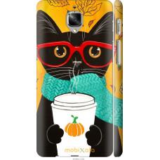 Чехол на OnePlus 3 Осенний кот