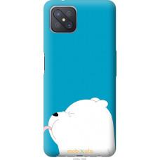Чехол на Oppo A92S Мишка 1