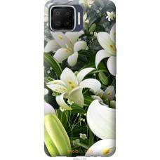 Чехол на Oppo A73 Белые лилии