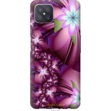 Чехол на Oppo A92S Цветочная мозаика