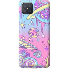 Чехол на Oppo A92S Розовая галактика