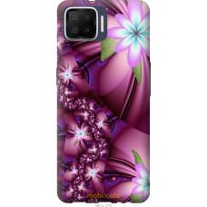 Чехол на Oppo A73 Цветочная мозаика