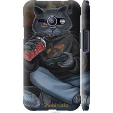 Чехол на Samsung Galaxy J1 Ace J110H gamer cat