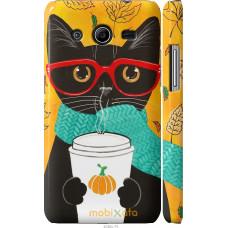 Чехол на Samsung Galaxy Core 2 G355 Осенний кот