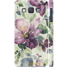 Чехол на Samsung Galaxy A3 A300H Акварель цветы