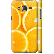 Чехол на Samsung Galaxy J2 J200H Апельсинки