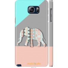 Чехол на Samsung Galaxy Note 5 N920C Узорчатый слон