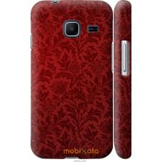 Чехол на Samsung Galaxy J1 Mini J105H Чехол цвета бордо
