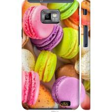 Чехол на Samsung Galaxy S2 i9100 Вкусные макаруны