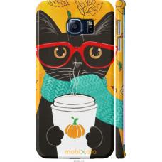 Чехол на Samsung Galaxy S6 Edge G925F Осенний кот