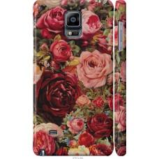 Чехол на Samsung Galaxy Note 4 N910H Прекрасные розы