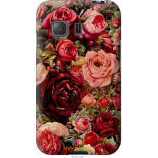 Чехол на Samsung Galaxy Young 2 G130h Прекрасные розы