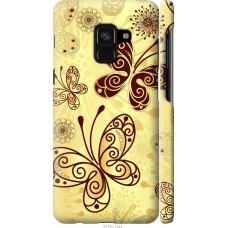 Чехол на Samsung Galaxy A8 2018 A530F Рисованные бабочки