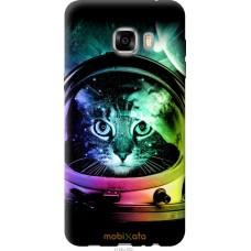 Чехол на Samsung Galaxy C7 C7000 Кот космонавт