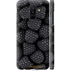 Чехол на Samsung Galaxy A6 Plus 2018 Черная ежевика