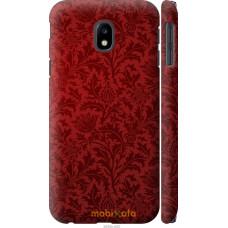 Чехол на Samsung Galaxy J3 (2017) Чехол цвета бордо