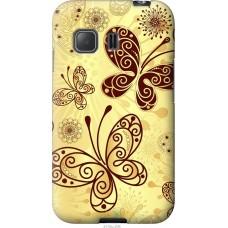 Чехол на Samsung Galaxy Young 2 G130h Рисованные бабочки