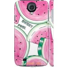 Чехол на Samsung Galaxy S4 i9500 Розовый арбузик