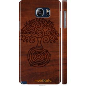 Чехол на Samsung Galaxy Note 5 N920C Узор дерева