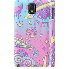 Чехол на Samsung Galaxy Note 3 N9000 'Розовый космос