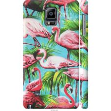 Чехол на Samsung Galaxy Note 4 N910H Tropical background