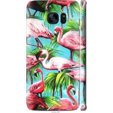 Чехол на Samsung Galaxy S7 Edge G935F Tropical background