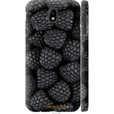 Чехол на Samsung Galaxy J7 J730 (2017) Черная ежевика