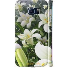 Чехол на Samsung Galaxy S6 Edge G925F Лилии белые