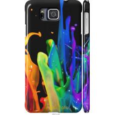 Чехол на Samsung Galaxy Alpha G850F брызги краски