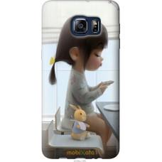 Чехол на Samsung Galaxy S6 Edge Plus G928 Милая девочка с за