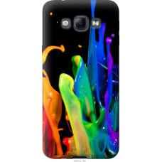 Чехол на Samsung Galaxy A8 A8000 брызги краски