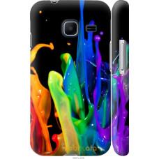 Чехол на Samsung Galaxy J1 Mini J105H брызги краски